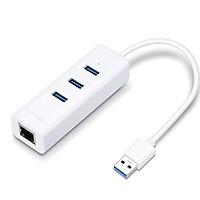 Bộ Chuyển Đổi Mạng USB 3.0 Sang Ethernet Gigabit kèm 3 cổng USB 3.0 TP-Link UE330 - Hàng Chính Hãng