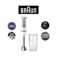 Máy xay cầm tay Braun MQ5200 Soup Vario – 1000W 21 tốc độ - SX Châu Âu - Hàng chính hãng