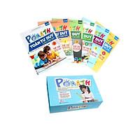Combo bộ Pomath học liệu và 6 cuốn Pomath toán tư duy cho bé 4-6 tuổi ( tặng kèm cục tẩy dễ thương)