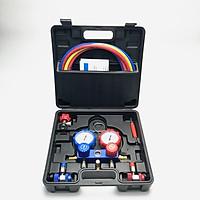 Đồng hồ nạp gas đôi, Bộ đồng hồ nạp gas máy lạnh, điều hòa ô tô chuyên dụng R12,R22,134a,410a