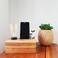 Đèn gỗ để bàn – Đèn trang trí | L11