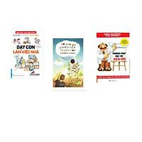 Combo 3 cuốn sách: Dạy Con Làm Việc Nhà + Nói Sao Để Khích Lệ Và Giúp Con Trưởng Thành  + Phương Pháp Học Tập Siêu Tốc
