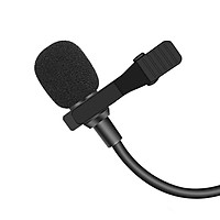 Mini Microphone Portable 3.5mm Recording Clip-on Microphone For Dji Pocket 2