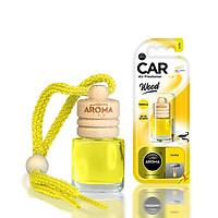 Tinh dầu treo ô tô Aroma Car Wood 6ml - Vanilla (hương Vani)