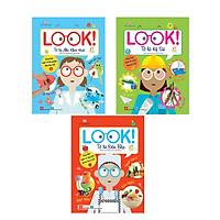 Combo 3 cuốn sách thú vị: Look! - Tớ là kỹ sư + Look! - Tớ là đầu bếp + Look! - Tớ là nhà khoa học