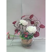 Bình hoa Lá thu
