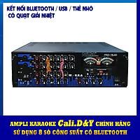 Amply Karaoke USB Bluetooth Nghe Nhạc Cali.D&Y PRO-192D Hàng chính hãng