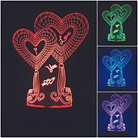 Đèn trang trí I Love You 16 màu  - Quà tặng đáng yêu LL05