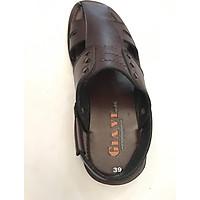 Giày Sandal Nam Giavi Da SDR8064N