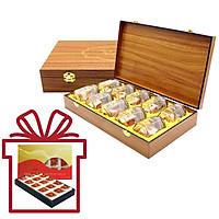 Yến Sào Song Việt – Combo hộp gỗ 10 phần yến và hộp giấy 15 phần yến khô