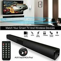 Wireless bluetooth Soundbar Speaker Sound Bar TV Home Theater Subwoofer W/ RCA