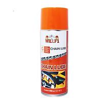 Chai xịt dưỡng sên xe máy WILLF1 Chain Lube 400ml Chuyên dùng cho moto/ xe máy sên trần