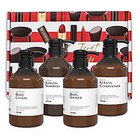 Bộ sản phẩm chăm sóc tóc và cơ thể Okame 4 món