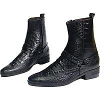 Giày boot doctor da bò thật.MS: B137