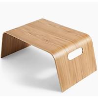 Bàn đa năng gỗ uốn cong ToMa Bed Tray - Veneer Màu Sồi