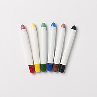 Bộ 6 Bút sáp màu tẩy rửa được JAJU
