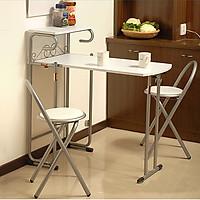 Bộ bàn ghế phòng ăn gấp gọn - Bàn ghế phòng ăn thông minh - Bàn ghế