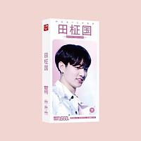 Postcard JungKook hộp ảnh bộ ảnh có ảnh dán sticker lomo bưu thiếp tặng ảnh thiết kế Vcone