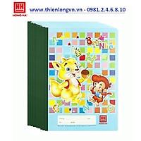Lốc 10 quyển vở 4 ô ly Bạn nhỏ 48 trang Hồng Hà 0509 - màu xanh biển