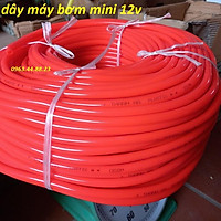 Ống nước 12mm dùng cho máy bơm mini, máy rửa xe mini ...1m dây
