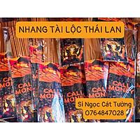 Nén Nhang Hương Tài Lộc 79 cây Nhập Khẩu Thần Tài - Thái Lan Hương Chanh xả Ít Khói 30cm
