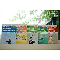 combo 5 cuốn kỹ năng mền - Rèn Luyện Năng Lực Tự Học + Rèn Luyện Năng Lực Hợp Tác + Rèn Luyện Năng Lực quản lí Thơi Gian + Rèn Luyện Năng Lực Giao Tiếp +  Rèn Luyện Năng Lực Giải Quyết Vấn Đề Và Sáng Tạo Bằng. (tặng 5 cuốn sổ tay bí kíp)