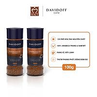 Combo 2 lọ Cà phê hòa tan - Davidoff Café  Espresso 57 - 100g