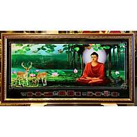 Đồng hồ lịch vạn niên Đức Phật ngồi thiền-MS647