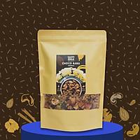 Ngũ Cốc Yến Mạch Nguyên Hạt Vị Cacao 400G Không Đường Tinh Luyện - CHOCO BANA GRANOLA HAPPI OHA - Ăn Kiêng/Ăn Sáng (Có Quả Khô)