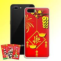 Ốp lưng dẻo cho điện thoại Realme C1 - 01184 7969 LOC02 - Tặng bao lì xì Chúc Mừng Năm Mới - Hàng Chính Hãng