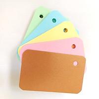 Combo 100 thẻ flashcards 4 màu học tiếng anh - Flashcard Phan Liên