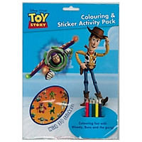 Toy Story Colouring & Sticker