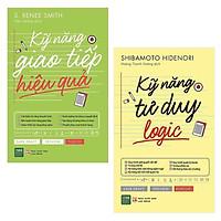 Combo Phát Triển Bản Thân: Kỹ Năng Giao Tiếp Hiệu Quả + Kỹ Năng Tư Duy Logic (cuốn sách g