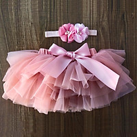 Summer style European and American children's skirt, girls' skirt, baby mesh skirt