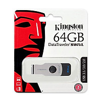 USB Kingston 64GB USB3.0 DTSWIVL(DTSWIVL/64GB) - Hàng Chính Hãng