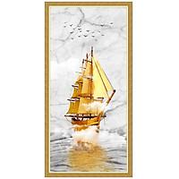 Tranh dán tường thuyền buồm nghệ thuật LV-0239