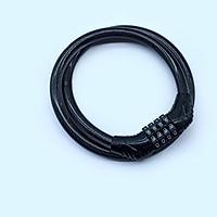 Khóa dây cáp chống trộm 4 số phi 12 bọc nhựa dài 80cm