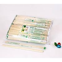 200 đôi Đũa gỗ tách dùng một lần, gia công dính liền, bọc màng nilong từng đôi, hàng cao cấp xuất Nhật