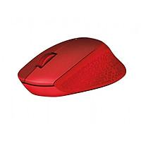 Chuột không dây LOGITECH M331 Red Cổng USB - Hàng chính hãng