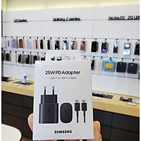 Bộ Sạc Nhanh Samsung 25W Travel Adapter ( Kèm Cáp 5A ) Full Hộp Nguyên Seal - Hàng Chính Hãng