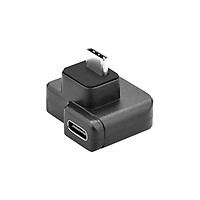 3.5mm / USB-C Audio Adapter ABS Black Microphone Converter for DJI OSMO Action