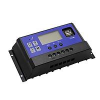 Bộ Điều Khiển Sạc Pin Mặt Trời 12/24V 50A Có USB 180x90x4.5mm