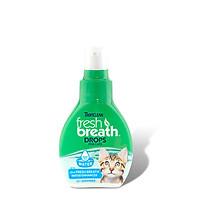 Nước chăm sóc răng miệng cho Mèo( đậm đặc) - FRESH BREATH BY TROPICLEAN DROPS FOR CATS