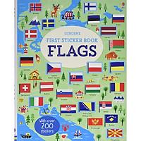 Sách - First Sticker Book Flags