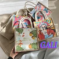 Túi cói mini thời trang dễ thương tiện lợi nhiều màu giá rẻ GL5
