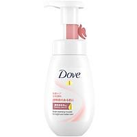 Mousse Rửa Mặt Dove Bọt Mịn Tinh Chất - Serum Sáng Da Rạng Rỡ 160ml