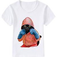 Summer Children Clothing Cute Cartoon T-Shirts Kids Summer Tops Girls Boys O Neck Short Sleeve Tees Baby Clothes