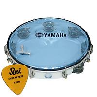 Trống lắc tay gõ bo Yamaha Inox tặng pick gảy guitar