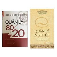 Combo Sách Kỹ Năng Để Trở Thành Nhà Quản Lý Chuyên Nghiệp: Quản Lý 80/20 + Quản Lý Nghiệp (Tặng kèm bookmark thiết kế)