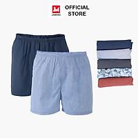 Combo 2 quần đùi nam Cotton mặc nhà thoải mái thoáng mát JAMANO- MÀU NGẪU NHIÊN